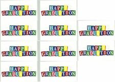 Frances Meyer Happy Graduation Blocks GRAD Scrapbook Stickers! 10 Sheets