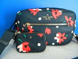 NWT KATE SPADE NEW YORK CHELSEA WHIMSY FLORAL MULTI CAMERA BAG STYLE WKR00588