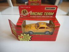 """Matchbox Nissan 300 ZX Turbo """"Year of the monkey"""" in Yellow/Green in Box"""