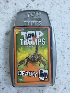 Top Trumps Deadly 60 Card Game.