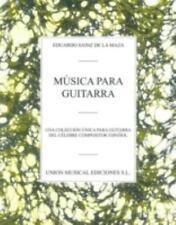 Musica Para Guitarra by Eduardo Sainz De La Maza Paperback Book (Spanish)