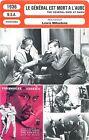 FICHE CINEMA FILM USA Le général est mort à l'aube / The general died at dawn