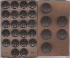 28 Boutons militaires armée belge.