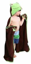 Frog - One of a kind extra large toddler / child Animal Character Towel with ...
