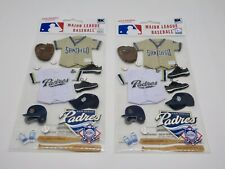 San Diego Padres Major League Baseball Stickers LOT of 2 Craft Stickers