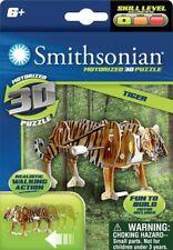 NEW SMITHSONIAN MUSEUM MOTORIZED 3D PUZZLE SAFARI SERIES: TIGER 69721