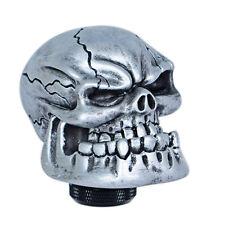 Skull Head Universal Car Truck Manual MT Gear Shift Knob Lever Shifter 5/6 Speed
