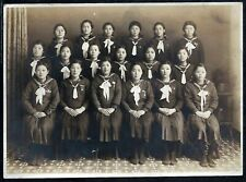 PHOTO ORIGINALE JAPON 1930: ETUDIANTES