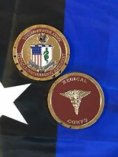 US Army Medical Corps Department AMEDD Caduceus Regiment Crest Challenge Coin