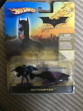 Hot Wheels Batman Begins Batcopter 2005 MINT