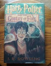 Harry Potter And The Goblet Of Fire J K Rowling HB DJ 1st Ed 1st Printing