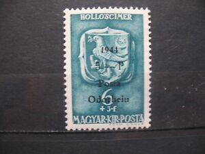 1944 Rumänien - Ungarn-Posta-Odorheiu 6+3/5