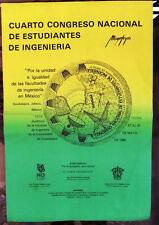 Congreso Nacional de Estudiantes de Ingenieria Spanish Mexico Festival Poster 85