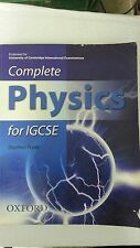 Complete Physics for IGCSE: by Stephen Pople (Author)