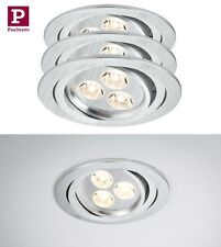 PAULMANN PREMIUM LINE EBL ARIA 3er SET LED ART:92530 3x3W HIGH LUMEN QUALITÄT