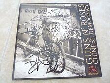Guns & Roses Chinese Democracy Autographed Signed LP Album x5 PSA Guaranteed