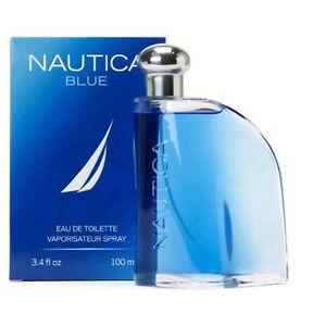 NAUTICA BLUE FOR MEN Cologne 100ML 3.4oz EDT   Eau De Toilette spray aquatic