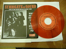 "SYNDICATE OF SOUND""LIVE SILVER DOLLAR-disco 45 giri SUNDAZED1996 MORO/PICTURE"""