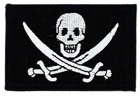 PIRATE JACK RACKHAM FLAG PATCHES COUNTRY PATCH BADGE IRON ON NEW EMBROIDERED