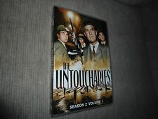 The Untouchables - Season 2, Vol. 1 (1960) Like New 4 Discs (DVD)