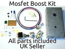 SHO Clone Mosfet Boost Kit Drilled Case Pots Knobs Footswitch Stompbox Pedal UK
