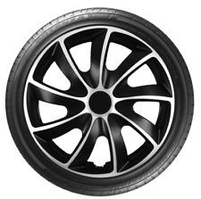 """4 x 14"""" Wheel Covers Hub Caps 14 Inch Wheel Trims Trim ABS Plastic Trim QuadSVL"""