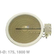 Radiadores HiLight ceranplatte 1800w ego 10.58111.004 AEG 374063621/6 BSH 289564