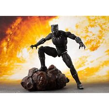 Bandai Avengers Infinity War Black Panther Figuarts Action Figure NEW Toys