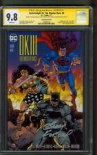 Batman Dark Knight III 9 CGC 4XSS 9.8 Frank Miller DK Team 7/17 Janson Variant