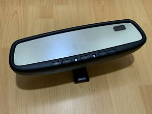 FACTORY OEM 2007 - 2011 TOYOTA AVALON AUTO DIM REAR VIEW MIRROR COMPASS HOMELINK