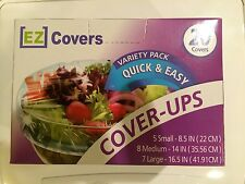 EZ Covers Variety Pack Quick & Easy Food Cover-Ups 20 Covers