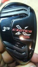 CUSTOM TOUR EXOTICS CB5  3 HYBRID 19°  YOUR CHOICE OF SHAFT AND GRIP