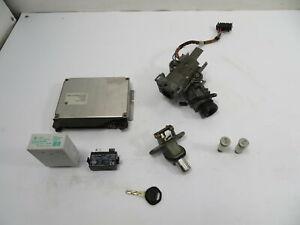 98 BMW M3 E36 #1148 Lock Set, Ignition ECU DME Immobilizer EWS