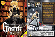 ANIME DVD Gosick Vol.1-25 End + Bonus Soundtrack CD Region All + FREE DVD