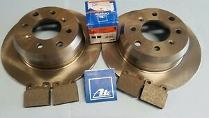 Alfa Romeo Rear Disc Brake Rotors & ATE Pads - Spider, GTV, Berlina - 105 & 115