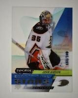 2020-21 UD Synergy Exceptional Stars #ES-23 John Gibson /749 - Anaheim Ducks
