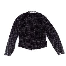 Vintage Natan Edouard Vermeulen Womens Wool Woven Jacket Size 40 Made in Belgium
