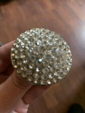Huge Statement Dome Sparkling Crystal Cocktail Ring New Size Medium