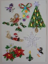 Quilling Designs for Christmas 1