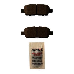 Disc Brake Pad Set Rear WD Express 520 09050 032