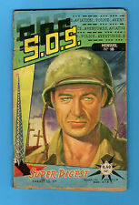 ►S.O.S. N°18 - 1960 - OURAGAN DE FEU - SUPER DIGEST - GARY COOPER