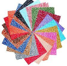 "60 5 inch Quilting Fabric Squares Beautiful Freeway Swirls 2 !!!!!-5"""