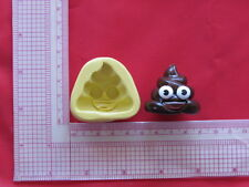 Big Poop Emoji Silicone Mold A863 Candy Chocolate Craft Fondant Wax Soap