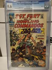 SGT. FURY AND HIS HOWLING COMMANDOS 47 CGC 9.6, 1967, Northland pedigree