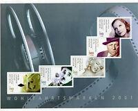 Bund MH Nr. 46 postfrisch Markenheftchen BRD 2218 C -2222 C Schauspieler Booklet