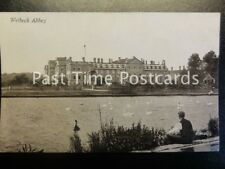 c1907 - Welbeck Abbey - across the lake