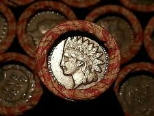 ONE LINCOLN WHEAT CENT PENNY ROLL  INDIAN HEAD BOTH ENDS!  1909-1958        F10