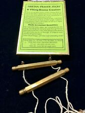 Tibetan Prayer Sticks: Magic Trick made in limited quantities by Viking-Brema