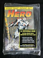 HERO ILLUSTRATED 1 PLATINUM July 93 RARE SILVER FOIL Valiant Comics SEALED