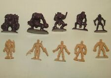 1998 Small Soldiers Big Battle Board Game Replacement Tokens Figures 10 Pieces